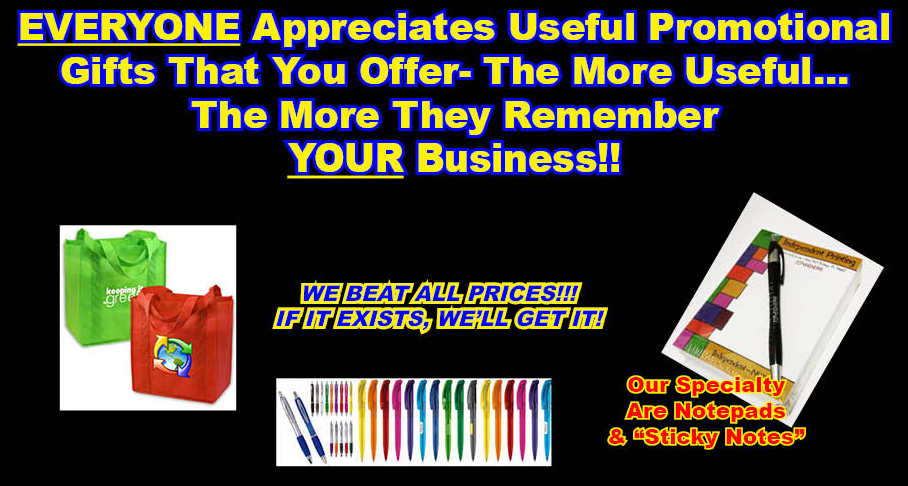 Search Our Promotional Items