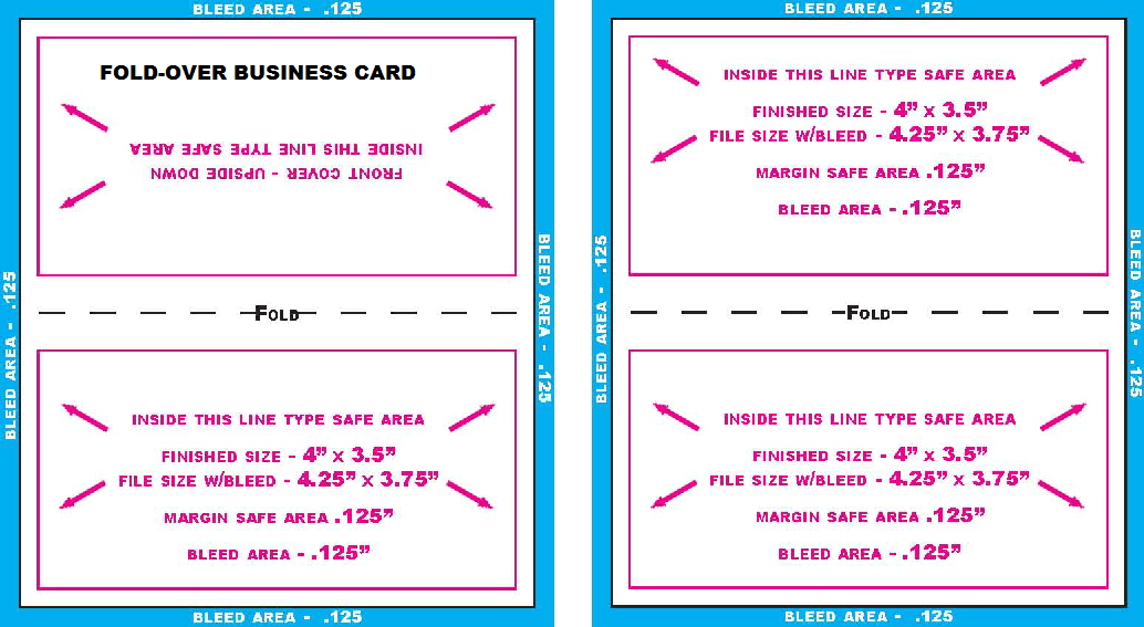 Business card templates buscard foldover 4x3503 maxwellsz